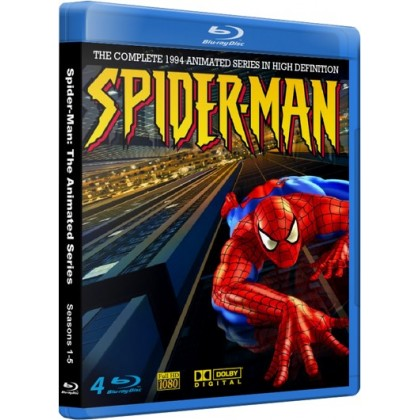 Spider-Man: The 1994 Animated Series Complete Blu-Ray Collection